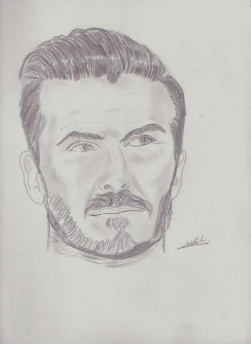 David Beckham par abdellah28